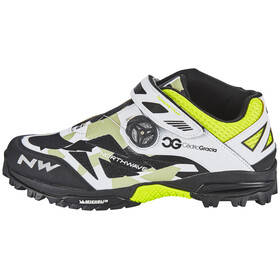 Northwave Enduro Mid Shoes Men camo/white/black